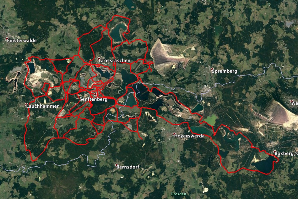 Cycling paths 2019