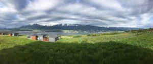 Bucht von Akureyri, vom Ferienhaus aus