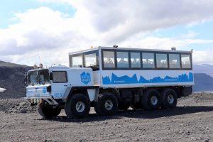 Truck für den Langjökull Gletscher