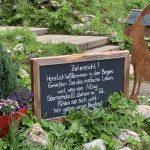Kemptner Hütte, Schild