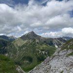 Blick vom Steinjöchle