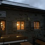 Braunschweiger Hütte am Abend